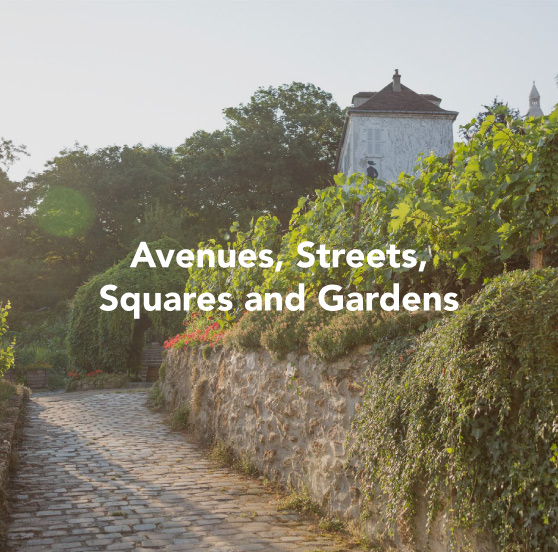 Paris gallery - avenues, streets, squares and gardens